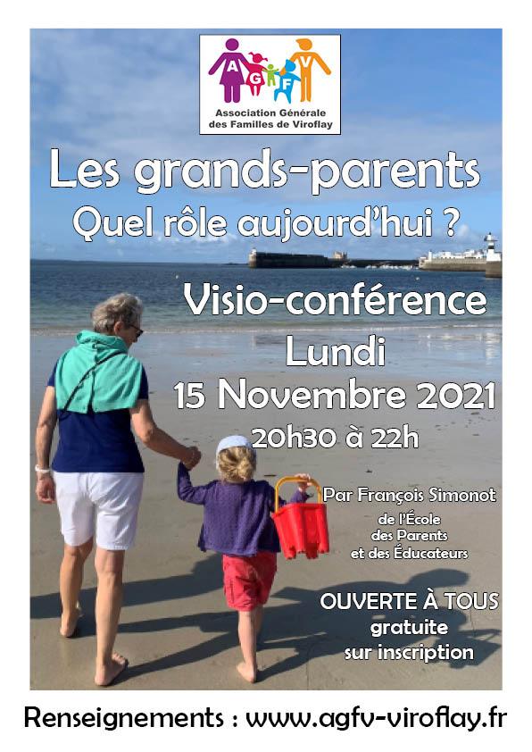 Read more about the article Visio conférence sur le rôle des grands-parents